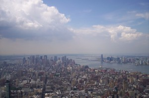 Veduta di NY