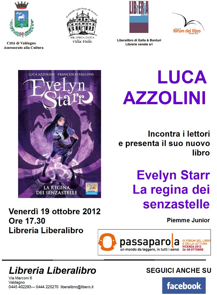 Evelyn Starr - Locandina dell'Evento a Vicenza